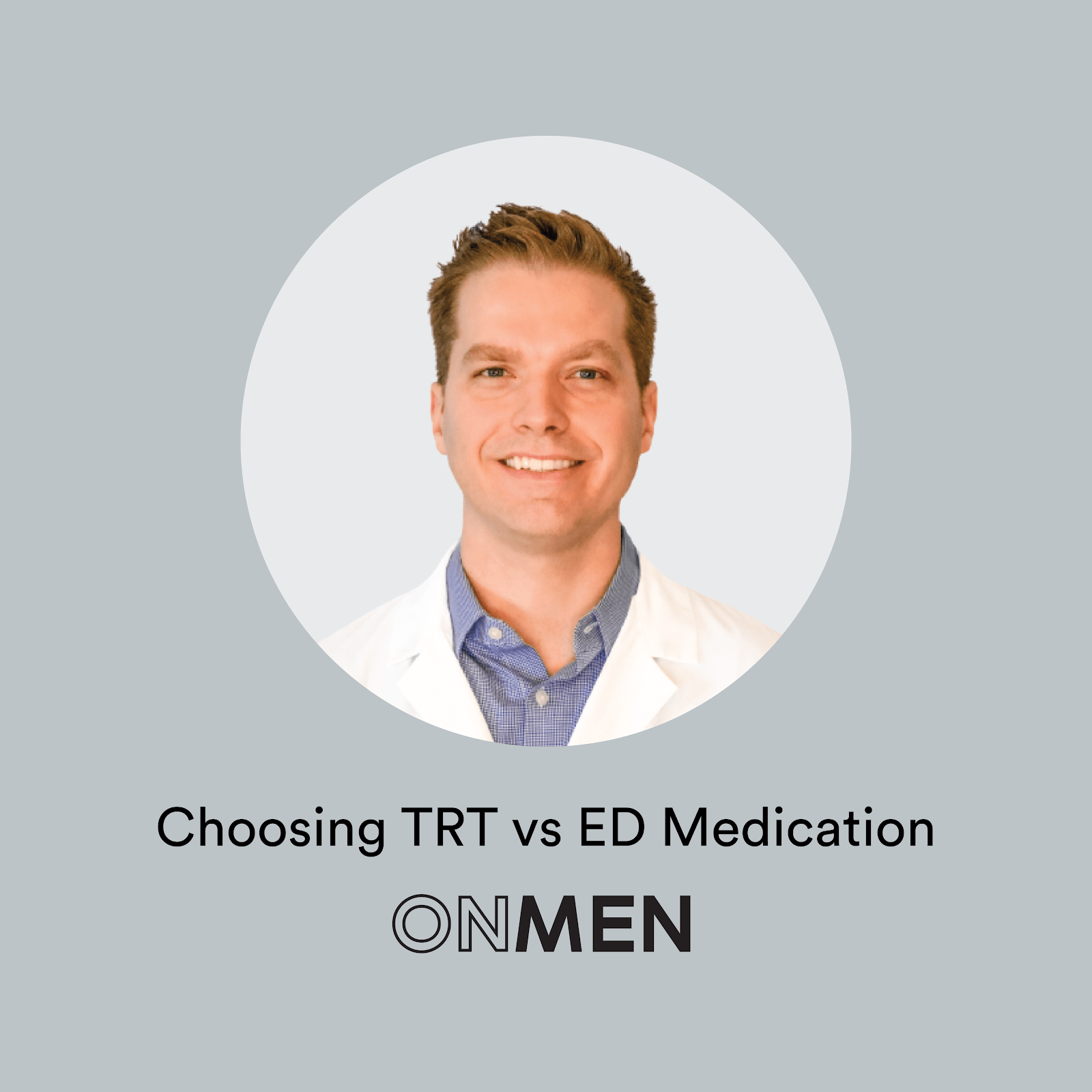 Why would someone choose TRT over ED medication?